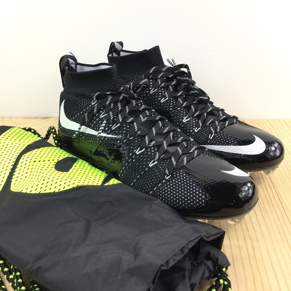 New Nike Vapor Untouchable TD Football Cleats Black//Green Size 11.5 Shoes